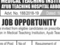 TWO NTS JOBS 2019 FOR CLINICAL PSYCHOLOGIST NTS JOBS 2019 APPLY HERE