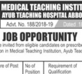 TWO NTS JOBS 2019 FOR CLINICAL PSYCHOLOGIST NTS JOBS 2019