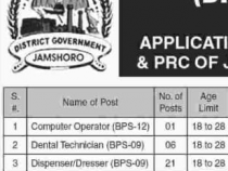 NTS 100+ JOBS 2019 Dresser, Midwife, Technicians, computer operator etc., BPS- 6 to 12 NTS JOBS 2019 APPLY HERE