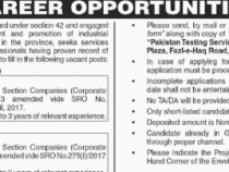 PTS JOBS 2019 FOR Chief Financial Officer, Company Secretary PTS JOBS 2019 APPLY HERE
