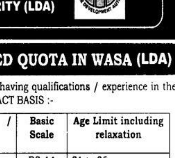 PTS JOBS 2019 FOR DISABLED PERSONS IN WASA BS-1 to 14 PTS JOBS 2019 APPLY HERE