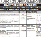 PPSC 687 JOBS 2019 BS-11 to 18 PPSC JOBS 2019 APPLY HERE