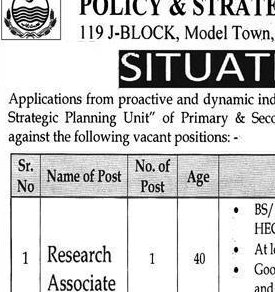 NTS JOBS 2020 Research Associate, Epidemiologist NTS JOBS 2020 APPLY HERE